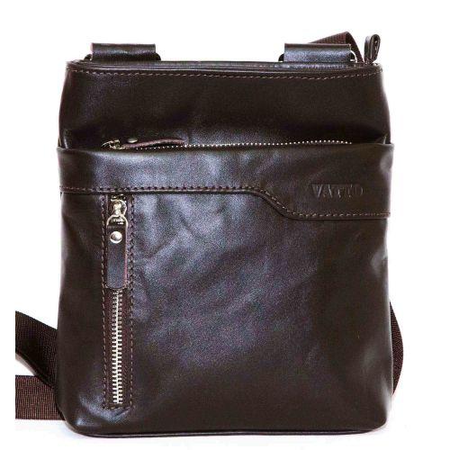 Мужская кожаная сумка Mk13Kaz400 коричневая