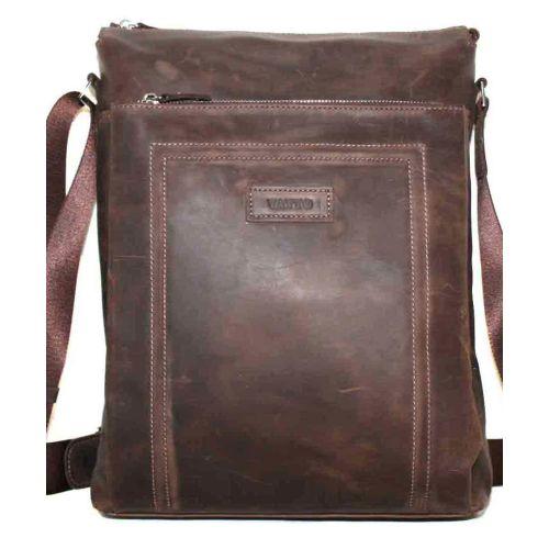 Мужская кожаная сумка Mк41Кr450 коричневая