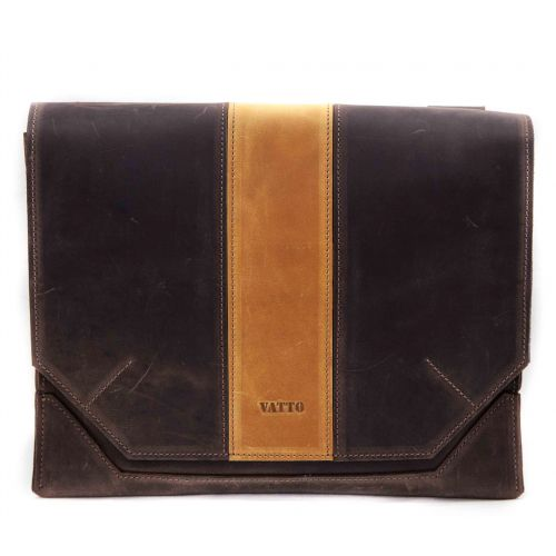 Мужской кожаный портфель MK21/1Kr450.200 коричневый