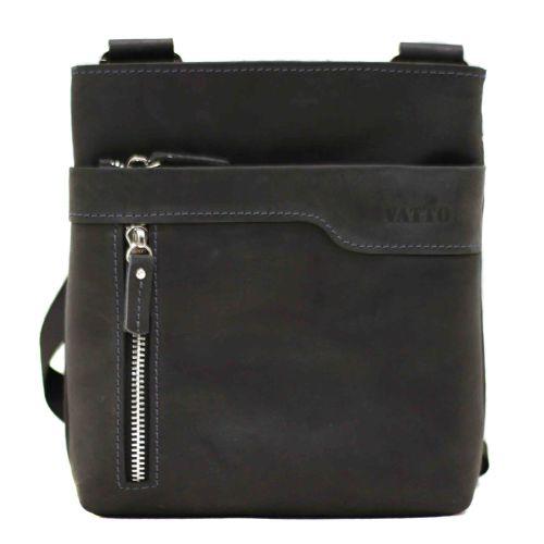 Мужская кожаная сумка MK13Kr670 чёрная