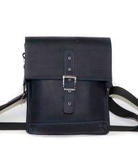 Мужская кожаная сумка MK29Kr600 синяя