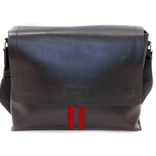 Мужской кожаный портфель MK34Кaz1Z3 чёрный