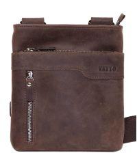 Мужская кожаная сумка Mk13Kr450 коричневая
