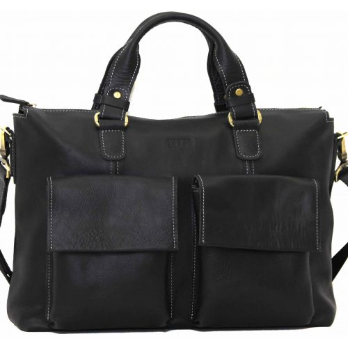 Мужской кожаный портфель MK25Kr670 чёрный