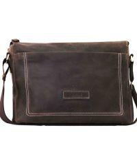 Мужской кожаный портфель MK33Kr450 коричневый