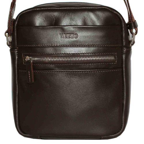 Мужская кожаная сумка Mк46Кaz400 коричневая