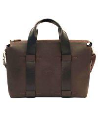 Мужской кожаный портфель Mk23Fl7Kaz400 коричневый