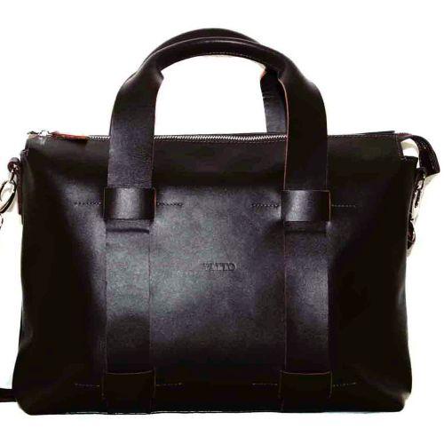 Мужской кожаный портфель MK23Kaz400 коричневый