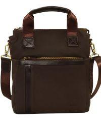 Мужская кожаная сумка Mk-41.2 FL7Kаz400 коричневая