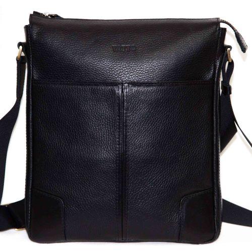 Мужская кожаная сумка MK10Fl1Kr1 чёрная