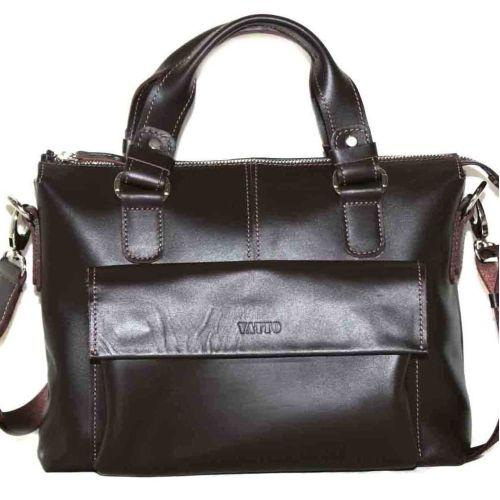 Мужской кожаный портфель MK20Kaz400 коричневый