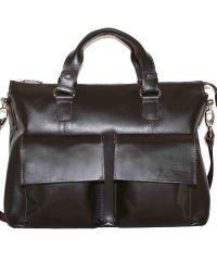 Мужской кожаный портфель MK25Kaz400 коричневый