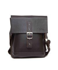 Мужская кожаная сумка MK29Кaz400 коричневая