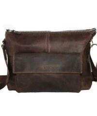 Мужской кожаный портфель MK20/1Kr450 коричневый