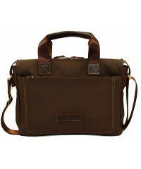 Мужской кожаный портфель Mk-33.1 FL7Kаz400 коричневый