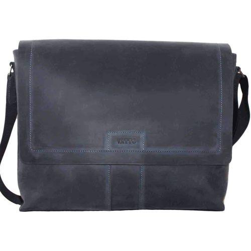 Мужской кожаный портфель MК-34Kr600 синий