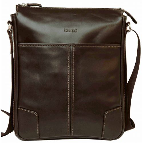 Мужская кожаная сумка Mk10Kaz400 коричневая