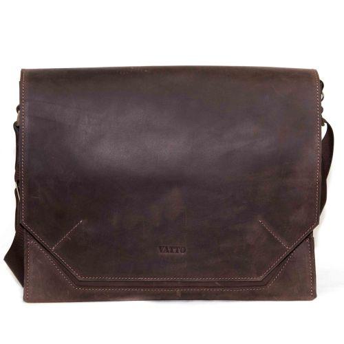 Мужской кожаный портфель MK21Kr450 коричневый