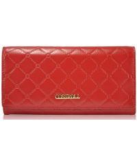 Женский кожаный кошелек A118-9111-1 красный