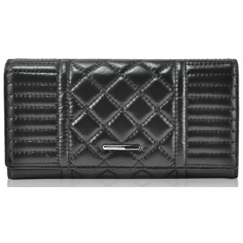Женский кожаный кошелек A117-9111-2 черный