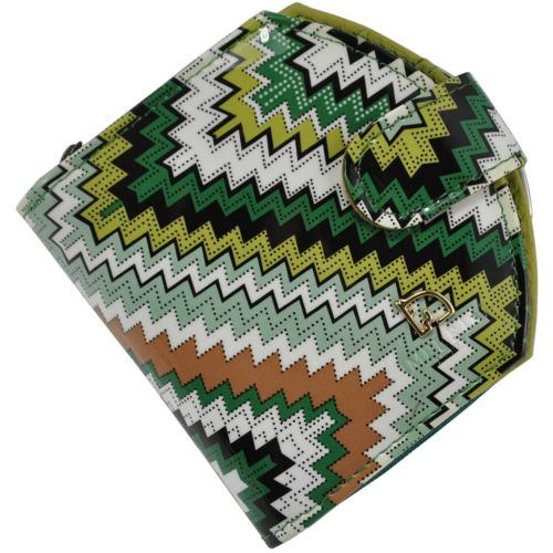 Женский кожаный кошелек 001B-14 разноцветный
