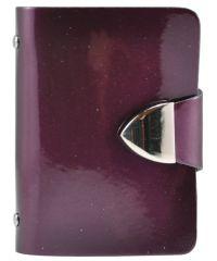 Визитница 008 фиолетовая