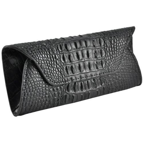 b270105fd8a2 Женский кожаный кошелек конверт 6801-2 черный