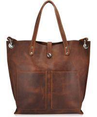 Женская кожаная сумка 857265 рыжая