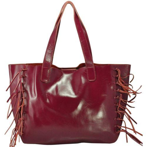 Кожаная сумка 1376 марсала