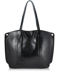 Женская кожаная сумка 8289-1 черная