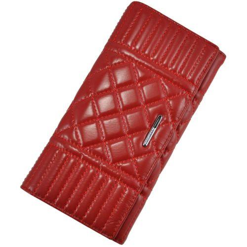 Женский кожаный кошелек A117-9111-1 красный