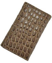 Кожаная ключница 661-1 коричневая