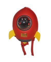 Детский рюкзак SUPERCUTE в виде ракеты красный