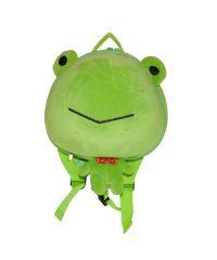 Детский рюкзак SUPERCUTE в виде лягушки салатовый