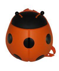 Детский рюкзак SUPERCUTE в виде божьей коровки оранжевый