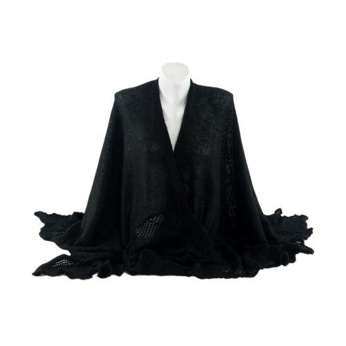 Шаль TRAUM 2483-50 черная