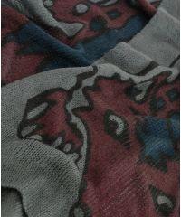 Шарф TRAUM 2483-38 серый с лисенком