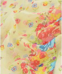 Шарф TRAUM 2498-08 бежевый в цветы