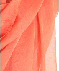 Шаль-парео TRAUM 2497-15 оранжевая