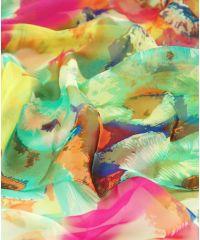 Шаль-парео TRAUM 2497-08 разноцветная в цветы