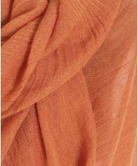Шаль-парео TRAUM 2498-42 оранжевая