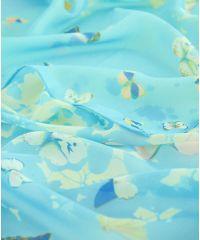 Шарф TRAUM 2495-26 голубой с желтым