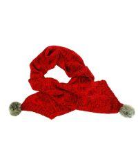 Шарф TRAUM 2483-40 красный с мехом