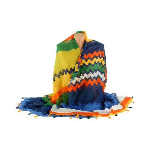 Шарф TRAUM 2498-82 разноцветный