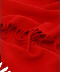 Шарф TRAUM 2492-20 красный