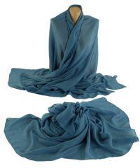 Шаль TRAUM 2494-90 синяя