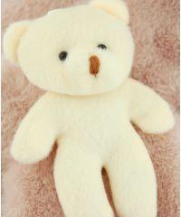 Шарф TRAUM 2483-49 розовый с мишкой