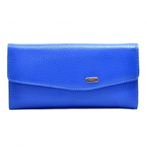Кошелек женский кожаный CANPEL 2029-304 ярко синий флотар