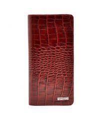 Кошелек женский кожаный Desisan 321-44 красный кроко