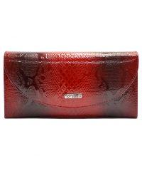 Кошелек женский кожаный Desisan 733-500 красный узор